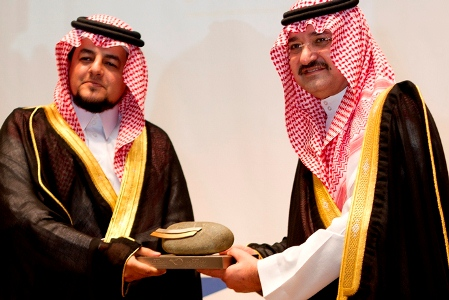 Honored by the society of majid bin abdulaziz for development and social services